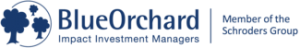 Logo Blue Orchard, Impact Investment Managers